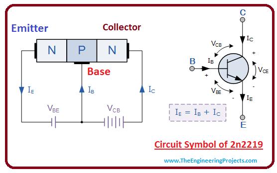 introduction to 2n2219, intro to 2n2219, basics of 2n2219, working of 2n2219, principle of 2n2219