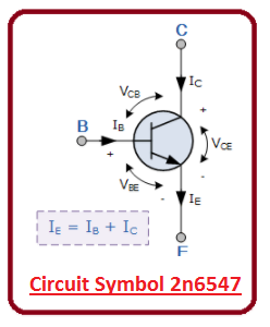 introduction to 2n6547, intro to 2n6547, applications of 2n6547, working of 2n6547, 2n6547 pinout