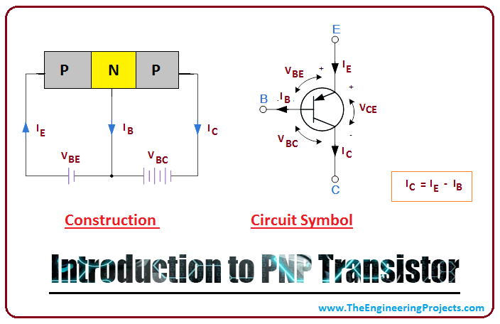 Introduction to PNP Transistor - The Engineering ProjectsThe Engineering Projects
