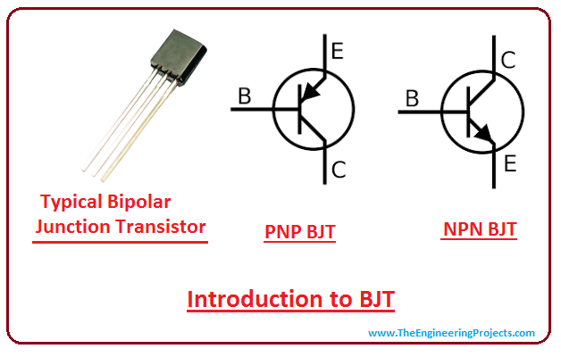 introduction to bjt, intro to bjt, working of bjt, application of bjt, npn bjt, pnp bjt