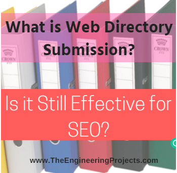 what is web directory submission, introduction to web directory submission, intro to web directory submission, web directory submission in seo