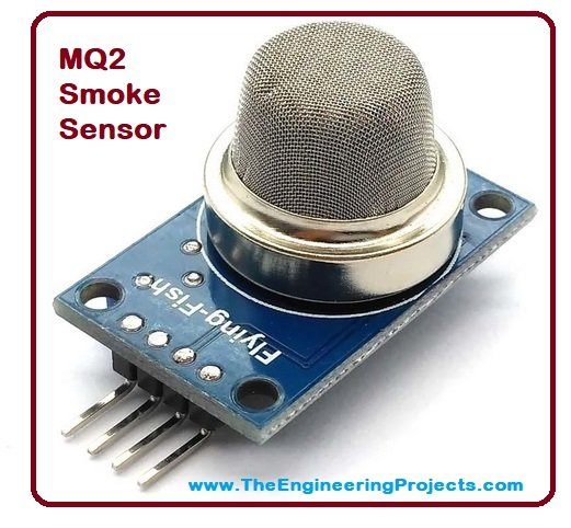 Smoke Detector with Arduino & MQ2 Sensor - The Engineering Projects