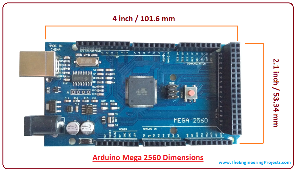 Introduction to Arduino Mega 2560 - The Engineering Projects