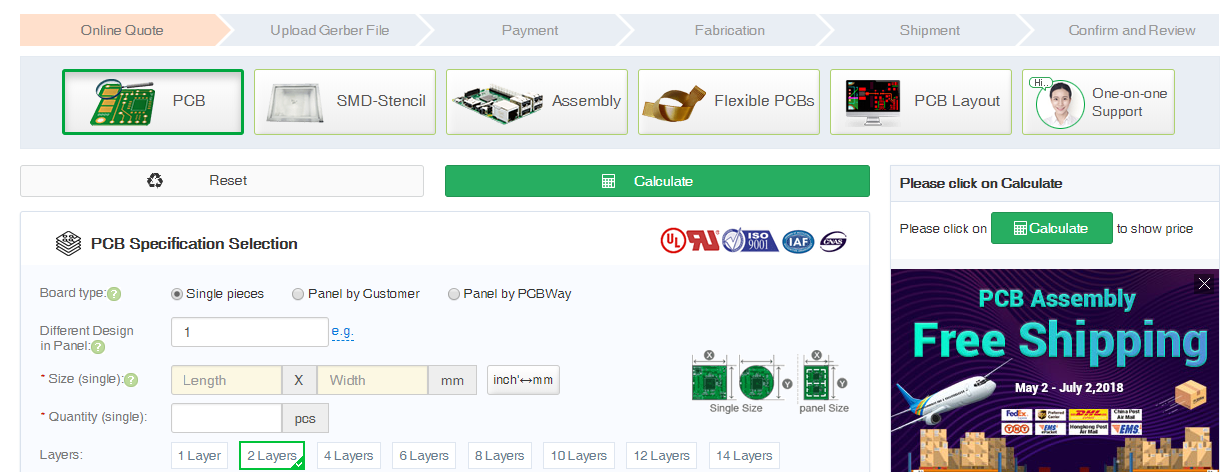 PCB Prototype Service by PCBWay - The Engineering Projects