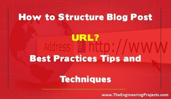 how to structure blog post url best practices tips and techniques, how to write url, benefits of readable url