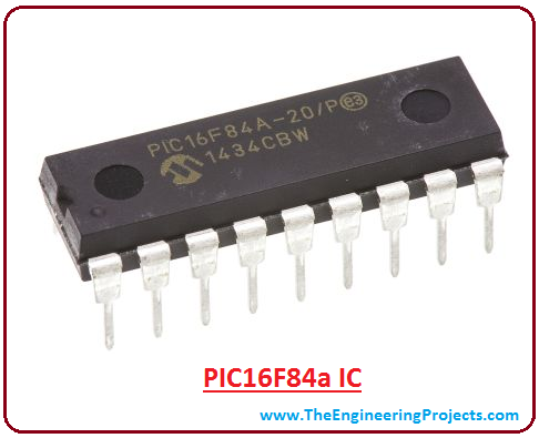 introduction to pic16f84a, pic16f84a pinout, pic16f84a features, pic16f84a block diagram, pic16f84a applications, pic16f84a memory layout