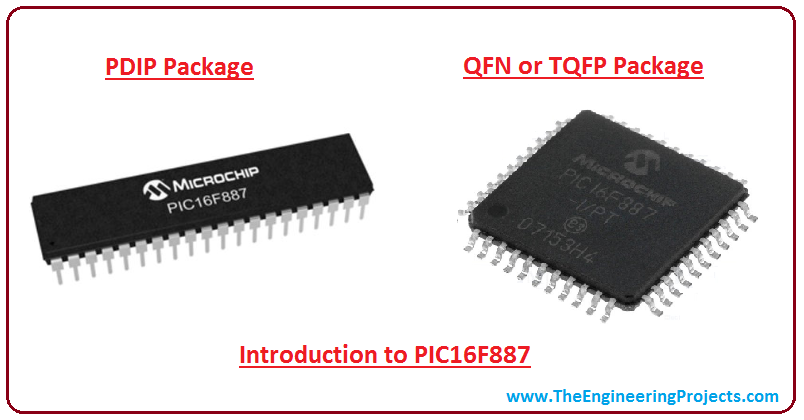 Introduction to PIC16F887 - The Engineering Projects