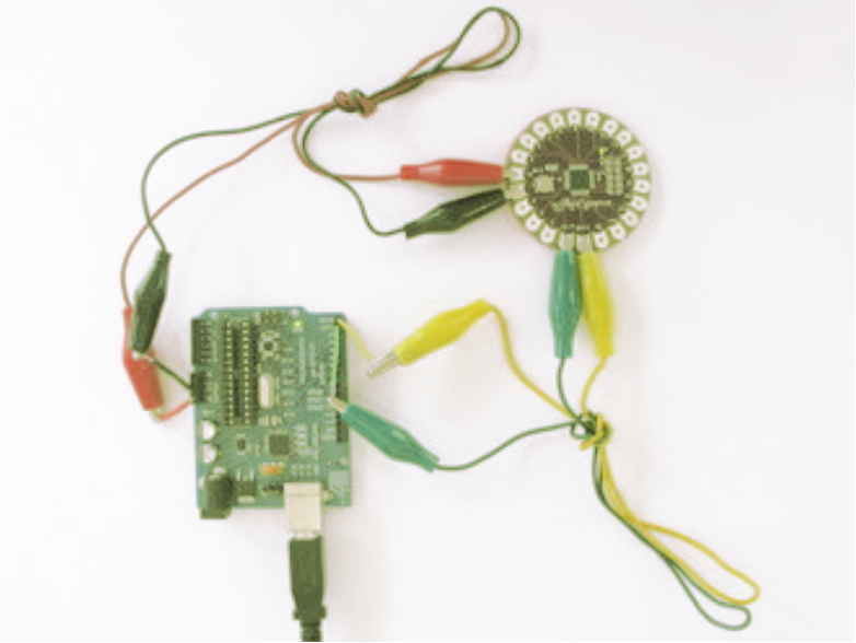 introduction to lilypad, arduino lilypad, how to program lilypad, lilypad arduino main board features, lilypad arduino main board pinout, lilypad applications