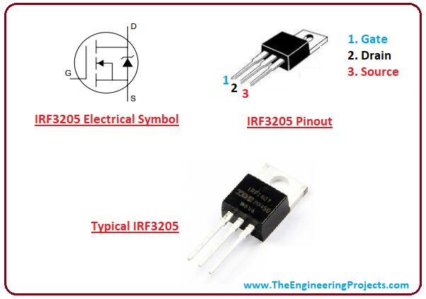Introduction to IRF3205 - The Engineering Projects