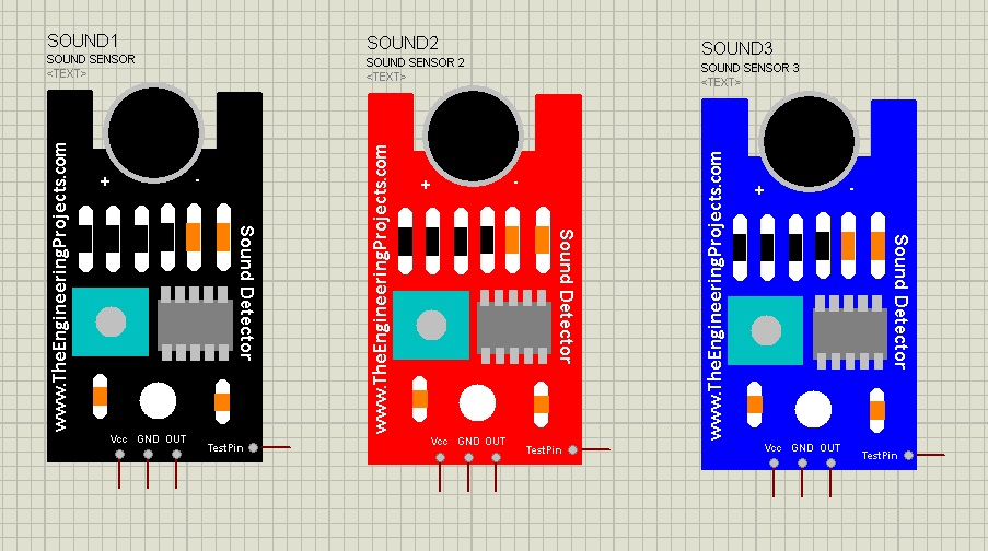 Sound Sensor Library for Proteus - The Engineering Projects