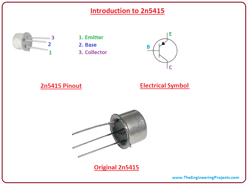 2 x 2N5415 PNP Transistor