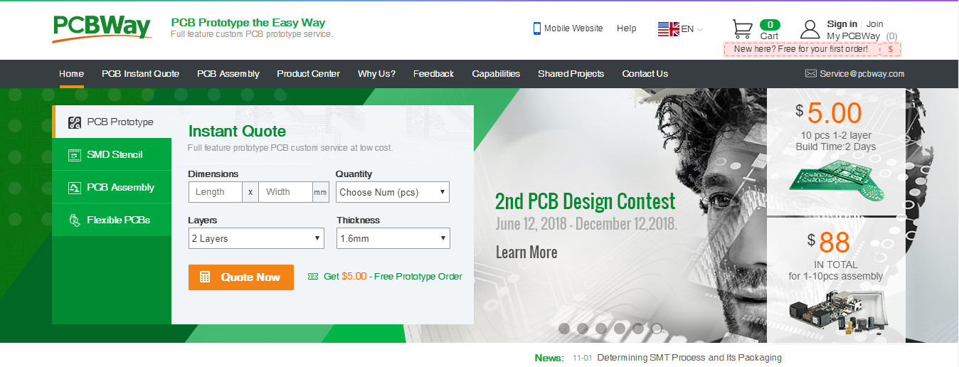 PCBWay - PCB Solution at Your Doorstep - The Engineering