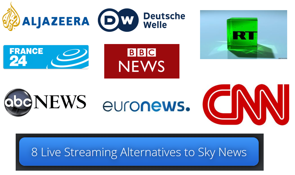 8 Live Streaming Alternatives to Sky News