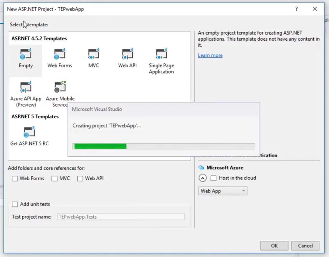 ASP.NET MVC 1 Setup your First Project, setup first project in asp, asp introduction, asp project basics