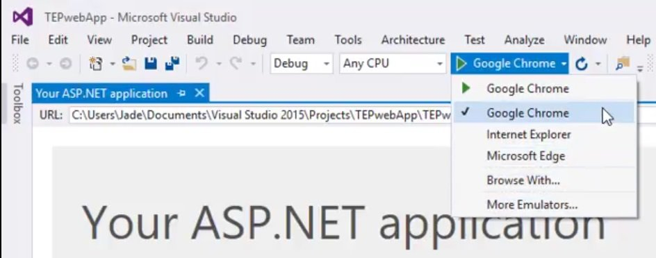 Setup your First Project in ASP NET MVC - The Engineering Projects