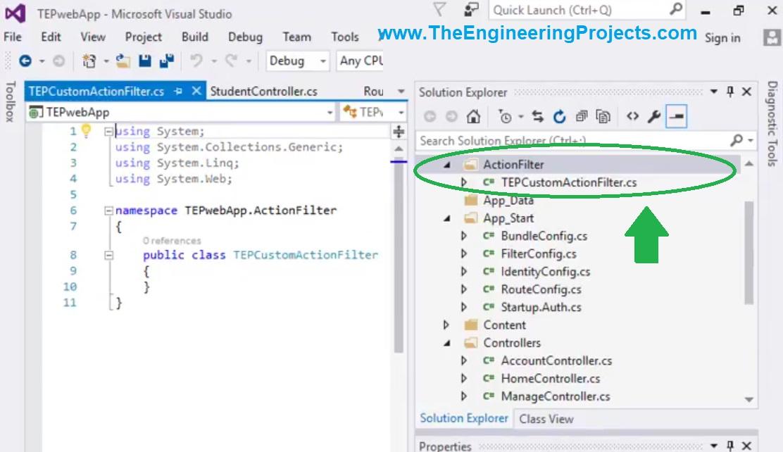 Create a Custom Filter in ASP.NET MVC, create new filter in asp, custom filter in asp, custom filter in mvc, custom filter in asp.net