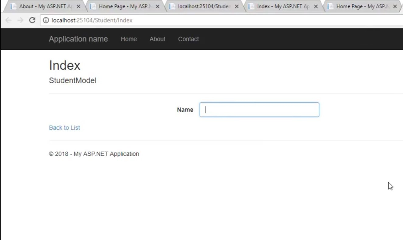 Create a New View in ASP.NET MVC, view in asp.net mvc, view in asp, view in mvc