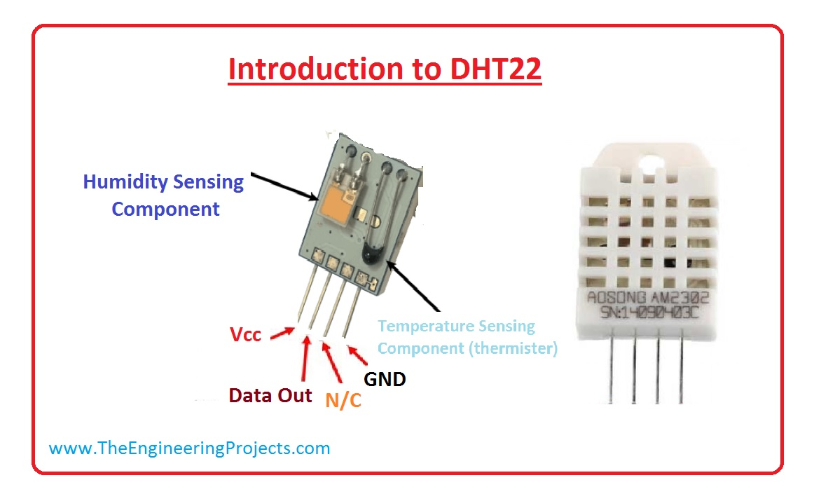 Introduction to DHT22 - The Engineering Projects