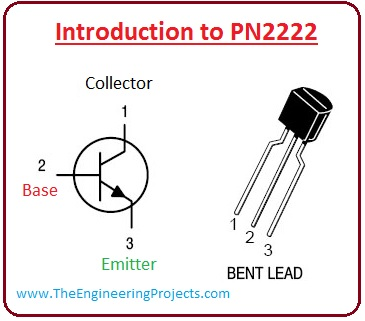 introduction to PN2222, pn2222 PN2222 working, PN2222 features, PN2222 applications, pinout,