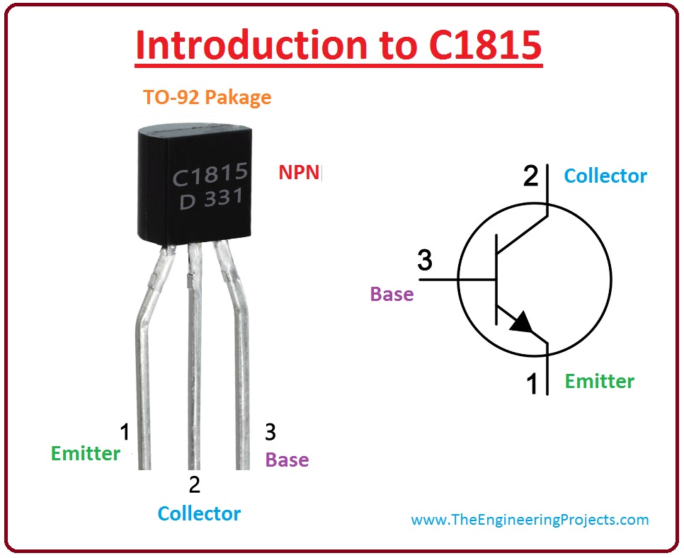introduction to c1815, c1815 pinout, c1815 working, c1815 applications, c1815 features, c1815
