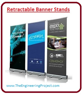 Three Types of Banners to Maximize Brand Awareness, Horizontal Banner Stands, Retractable Banner Stands, Backdrop Banner Stands