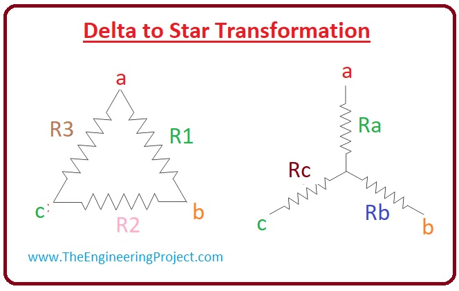 What is Star Delta Transformation, Star Delta Transformation working, Star Delta Transformation equation, Star Delta Transformation application, Star Delta Transformation