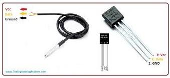 what are temperature sensors, working of temperature sensors, temperature sensors applications, temperature sensors