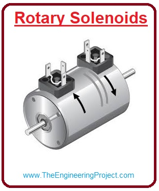 Applications of Linear Solenoid,Reduction of Power Loss in Solenoid,Solenoid Switching Circuit,What is Linear Solenoid, Rotary Solenoids