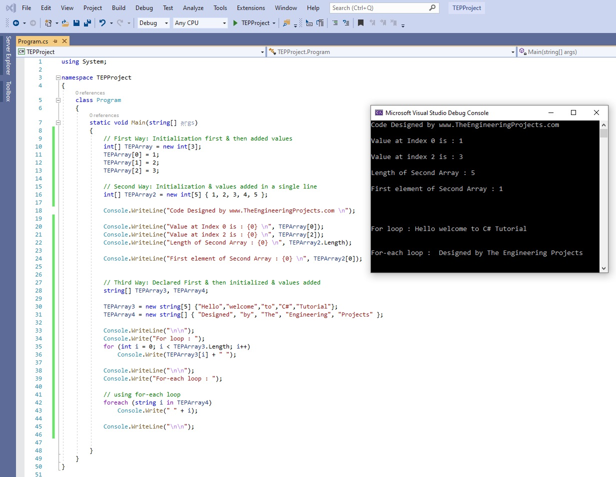 How to use Arrays in C#, Arrays in C#, array c#, c# array