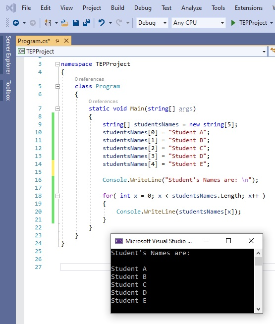 How to use for Loop in C#, for loop in c#, for c#, c# for loop, for loop c#