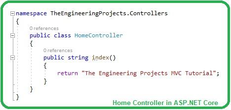 How to setup MVC in ASP.NET Core, MVC in asp net core, asp net core mvc, mvc asp.net core