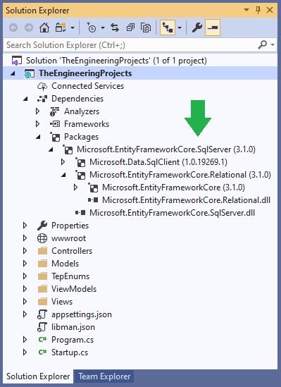 Introduction to Entity Framework Core, Entity Framework Core, EF Core in asp.net core, ef core