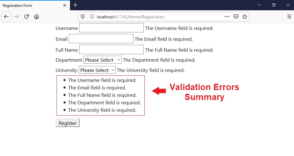 Form Validation in ASP.NET Core, Validation in ASP.NET Core, Validation ASP.NET Core, asp.net core validation, validation attributes in asp.net core, validation tag helpers in asp.net core