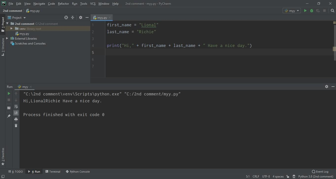 String in Python, how to use strings in python, python string, string python, pythong string function, string functions in python, How to use escape sequences in python, Concatenation in python