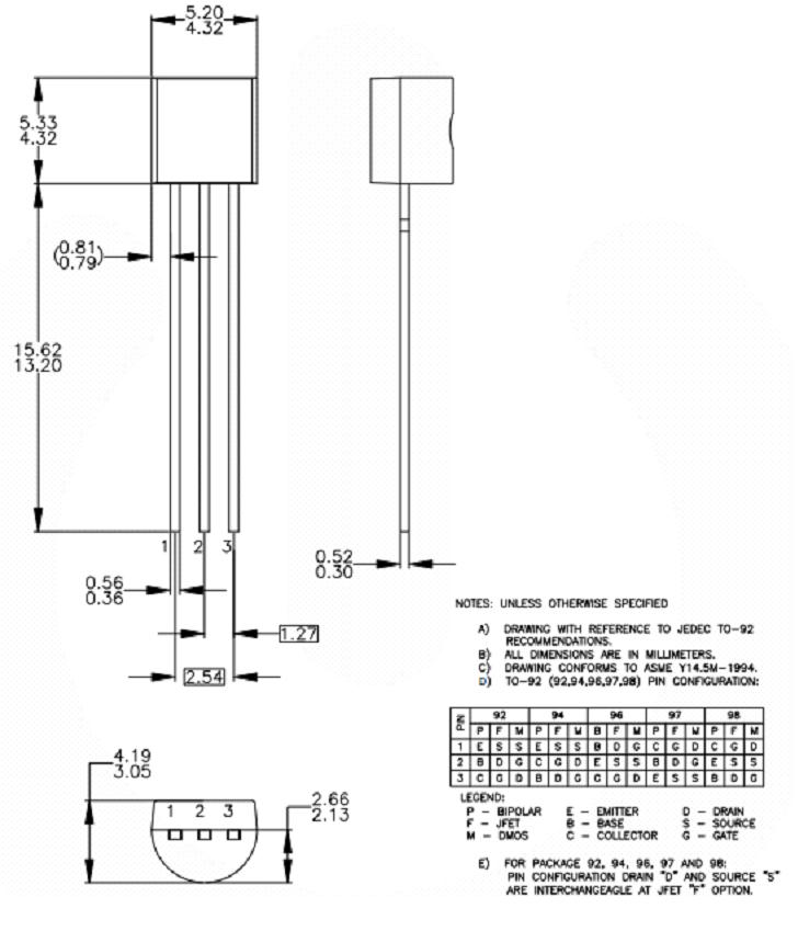 Introduction to BC548, BC548, basics of BC548, BC548 intro, bc548 datasheet, bc548 pinout, bc548 pin description