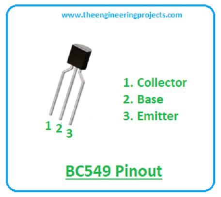 Introduction to BC549, BC549, basics of BC549, BC549 intro, bc549 datasheet, bc549 pinout, bc549 pin description