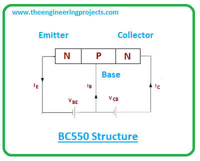 Introduction to BC550, bc550 pinout, bc550 power ratings, bc550 applications