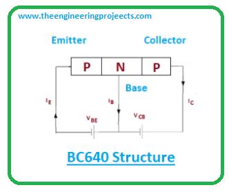 Introduction to BC640, bc640 pinout, bc640 power ratings, bc640 applications