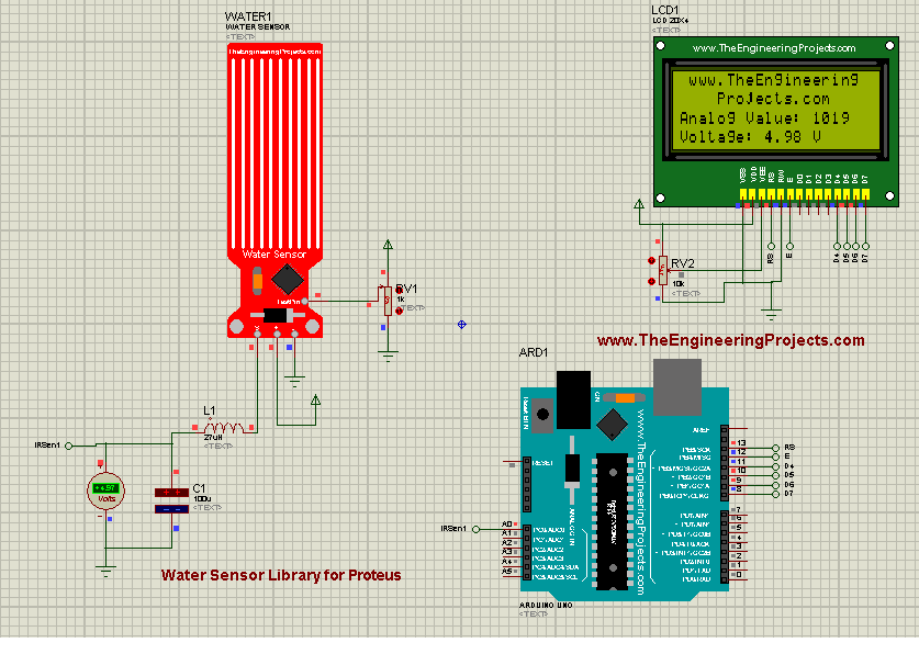 new proteus libraries for engineering students, proteus simluation for sensors, proteus libraries for sensors, proteus simulation