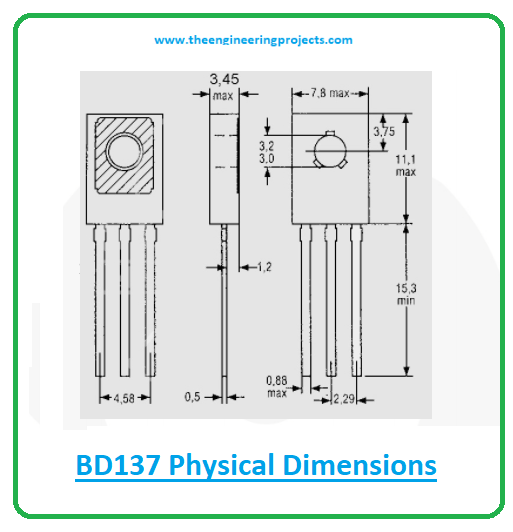 Introduction to bd137, bd137 pinout, bd137 power ratings, bd137 applications