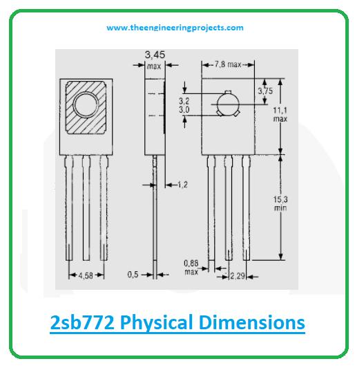 Introduction to 2sb772, 2sb772 pinout, 2sb772 power ratings, 2sb772 applications