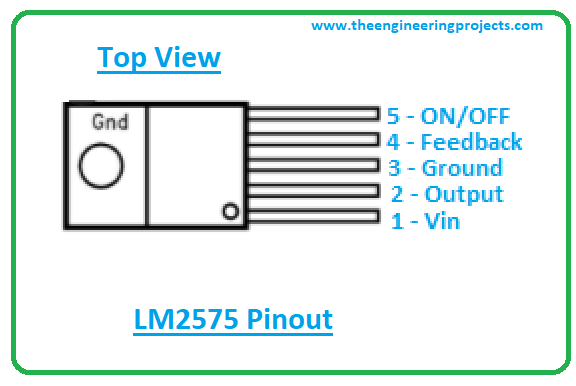 Introduction to lm2575, lm2575 pinout, lm2575 features, lm2575 applications
