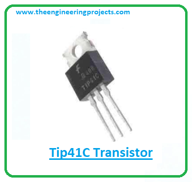 Introduction to tip41c, tip41c pinout, tip41c power ratings, tip41c applications