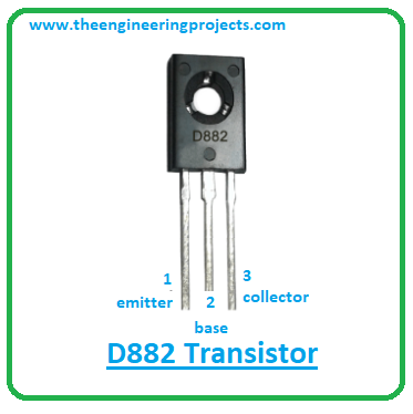 troduction to d882, d882 pinout, d882 power ratings, d882 applications
