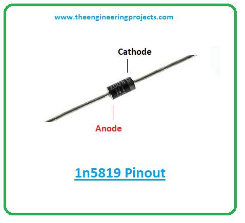 Introduction to 1n5819, 1n5819 pinout, 1n5819 power ratings, 1n5819 applications