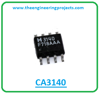 Introduction to ca3140, ca3140 pinout, ca3140 power ratings, ca3140 applications