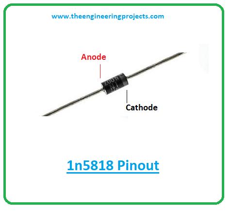 Introduction to 1n5818, 1n5818 pinout, 1n5818 power ratings, 1n5818 applications