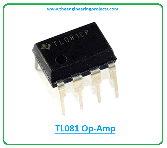 Introduction to tl081, tl081 pinout, tl081 power ratings, tl081 applications