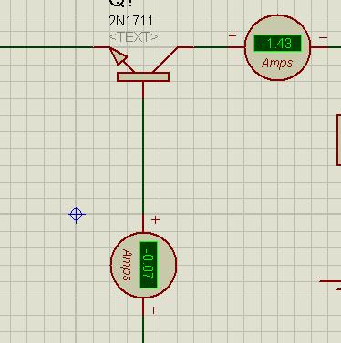 Common base amplifier, bjt amplifier in proteus, Common base bjt amplifier in proteus, implementation of Common base BJT Amplifiers