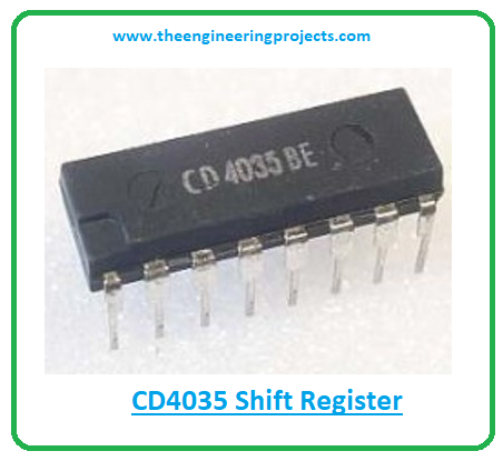 Introduction to cd4035, cd4035 pinout, cd4035 features, cd4035 applications